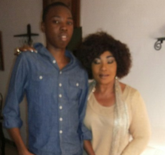 Actress Eucharia Anunobi shares photos from her son, Raymond