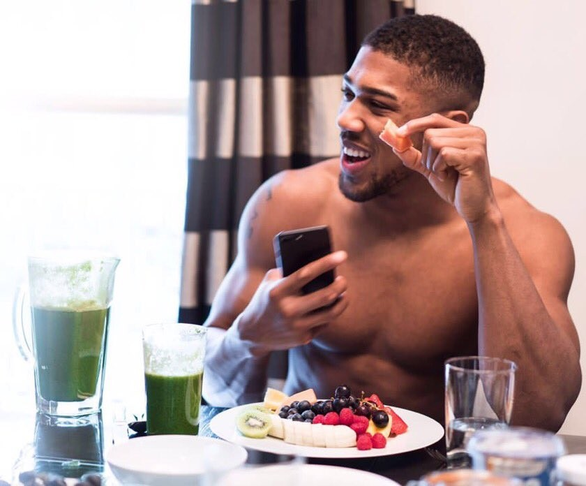 Check out this photoshopped photo of Anthony Joshua rocking ?Ebuka