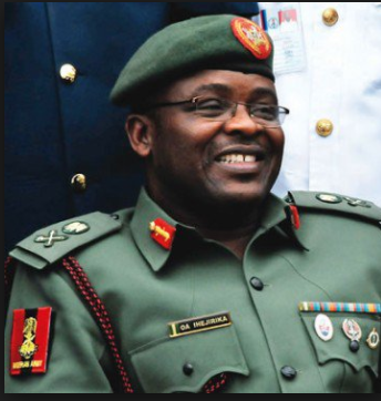 EFCC questions Nigeria?s former Army Chief Ihejirika over involvement in?Dasukigate