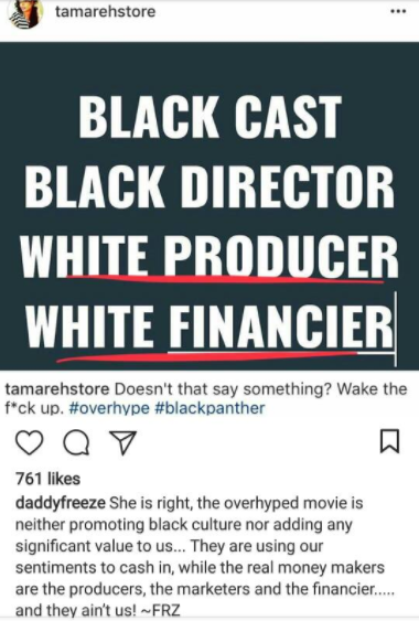 "OAP Freeze criticizes Black Panther movie -""The overhyped movie is neither promoting black culture nor adding any significant value to us"""