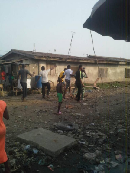 Man beats wife to death then dumps her body inside the Lagos lagoon (graphic photos)
