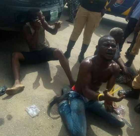Photos: Lagos State Neighbourhood Safety Corp officer stabbed to death by suspected cultists for acting as police informant