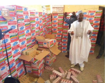 NDLEA intercepts N19m worth of illegal drugs concealed in noodles? cartons