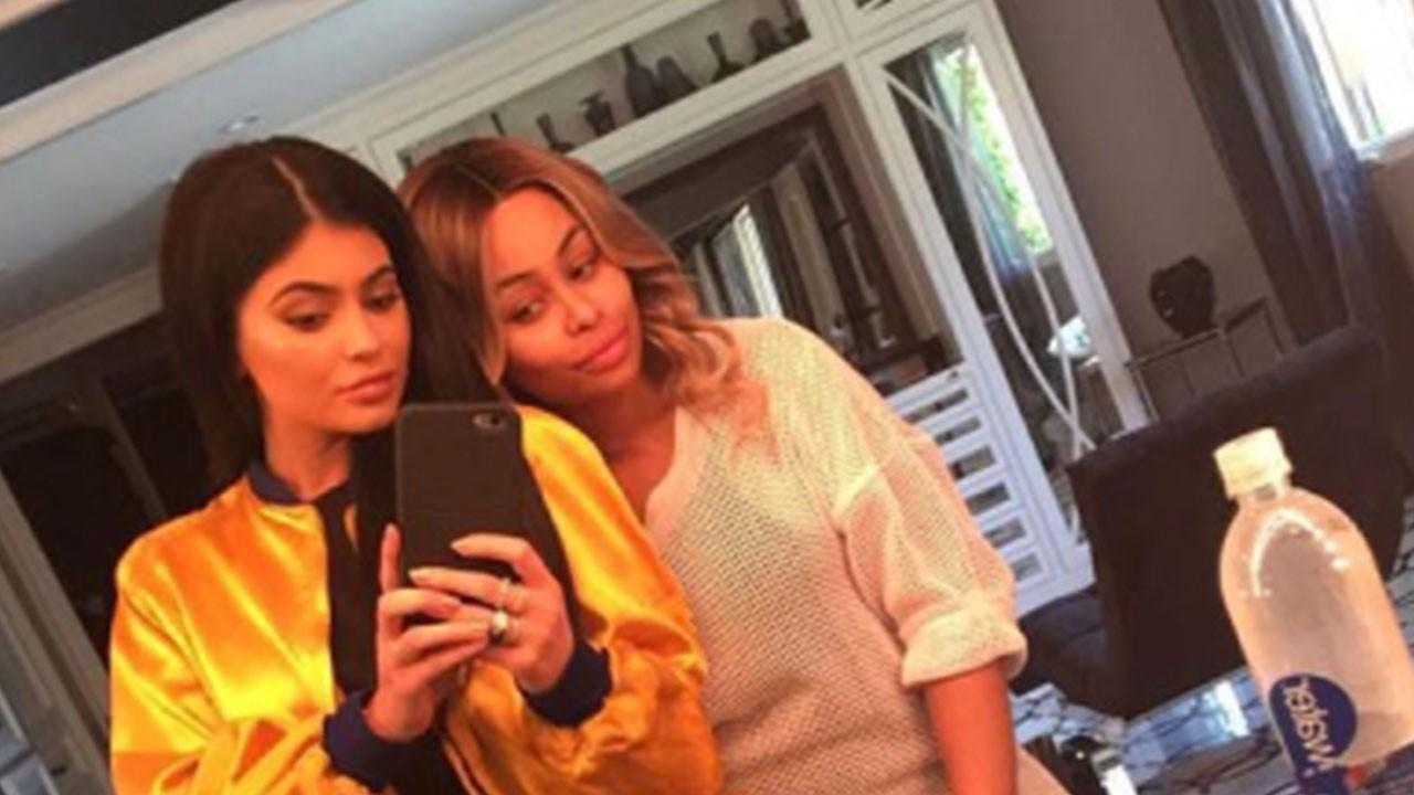 Lol..Blac Chyna follows Kylie Jenner