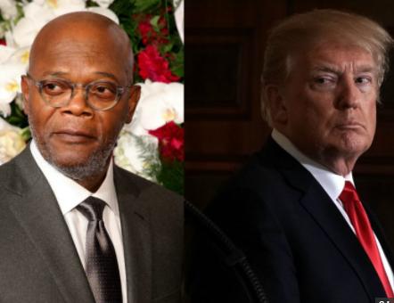 Samuel?Jackson calls President Trump a