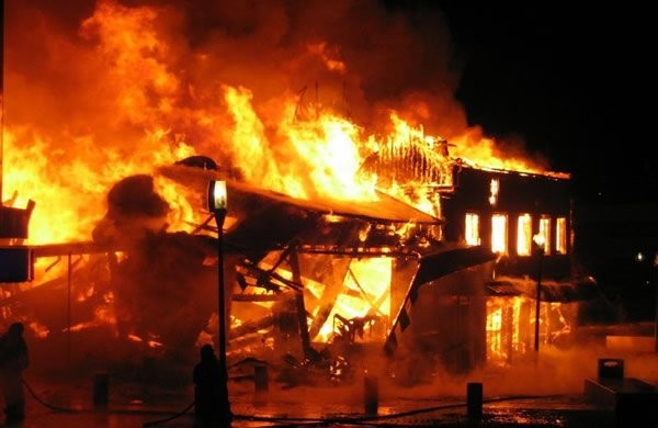 Youths in Anambra village burn down church after teacher marries his 17yr old sister