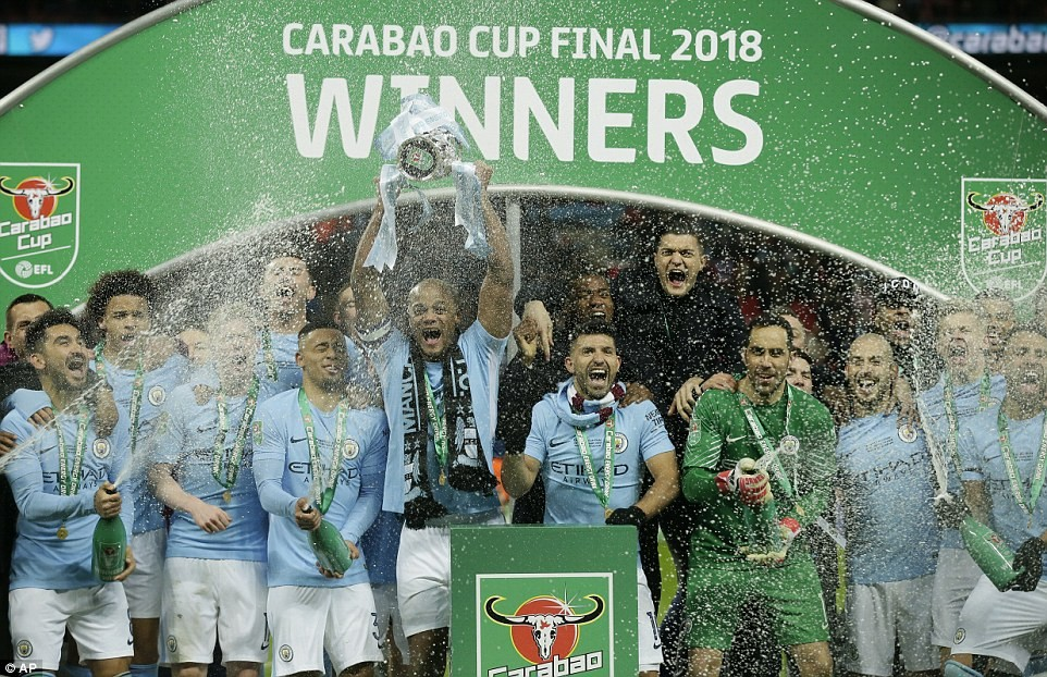 Photos: Caraboa Cup winners! Pep Guardiola