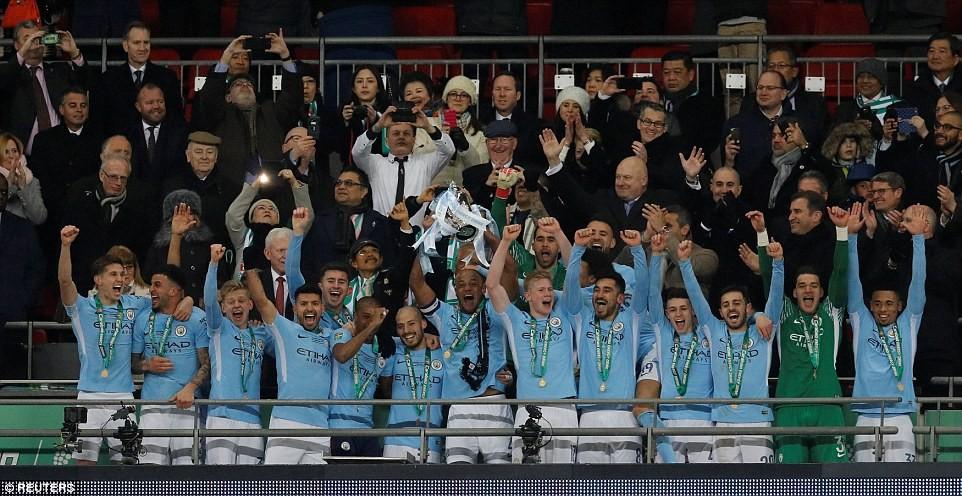 Photos: Caraboa Cup winners! Pep Guardiola