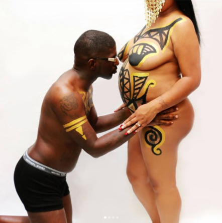 Hit or Miss? Checkout these trending semi-nude maternity photos