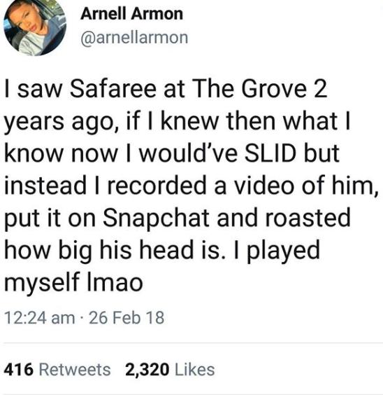 Twitter women go crazy over Safaree