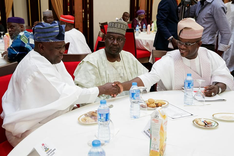 Photos: President Buhari presides over APC Caucus