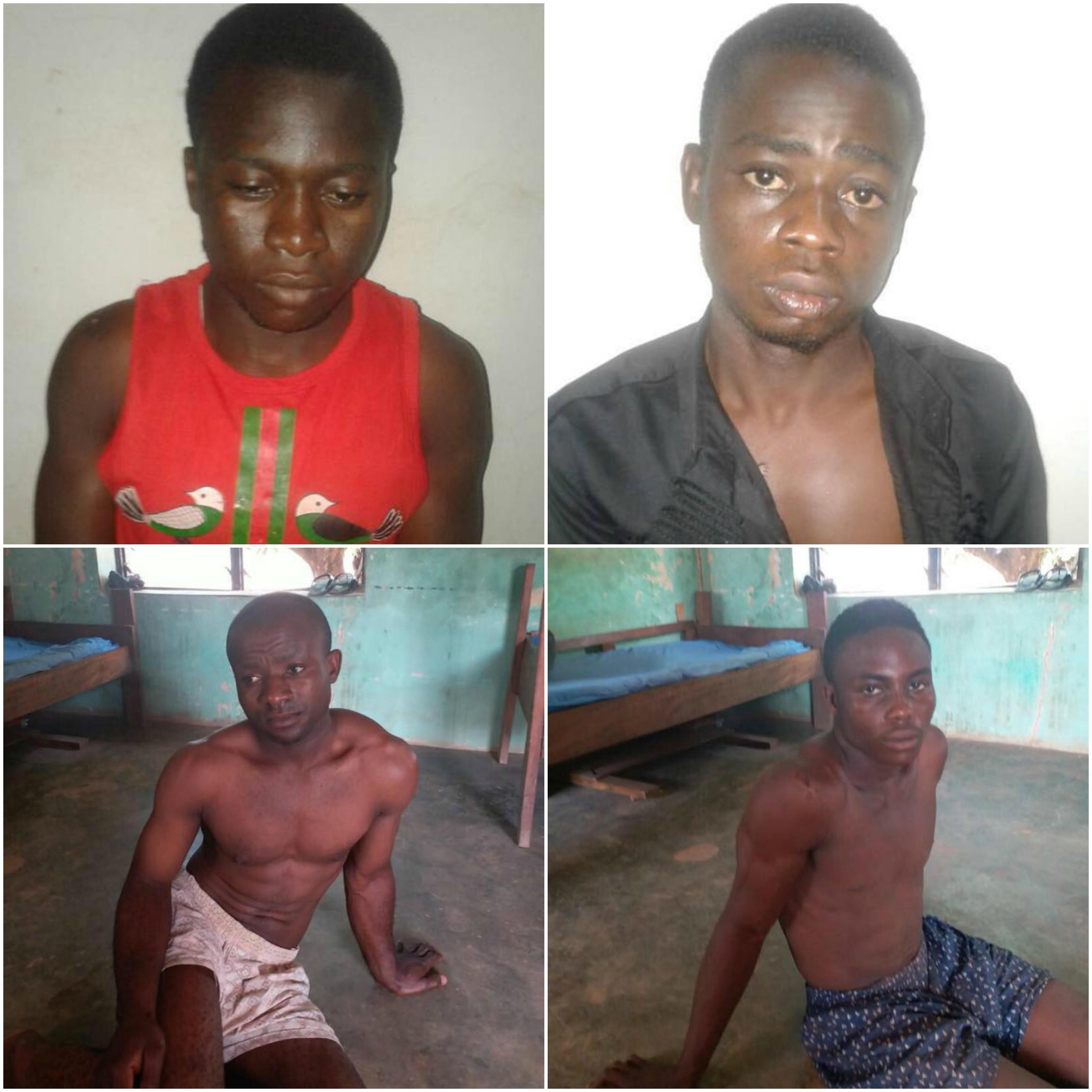 Photos: Troops arrest suspected kidnappers and killers of Taraba lawmaker, Hosea Ibi