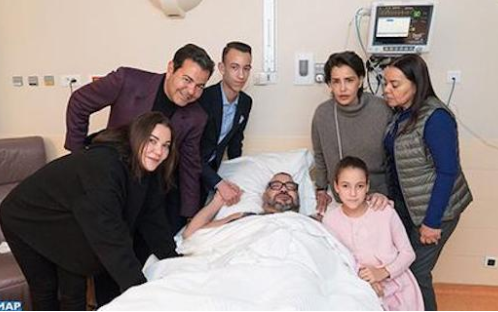Morocco?s King Mohammed undergoes successful heart surgery