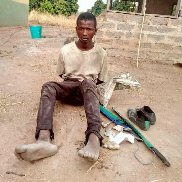Photos: Troops arrest?herdsmen while they were destroying farmlands in Benue State