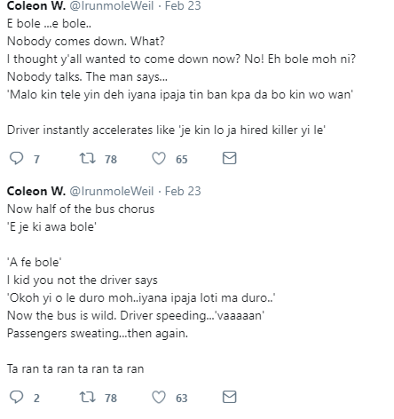 Lol! Man shares the hilarious story of how a man who misused the word