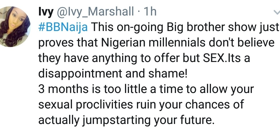 BBNaija Tweet of the day!