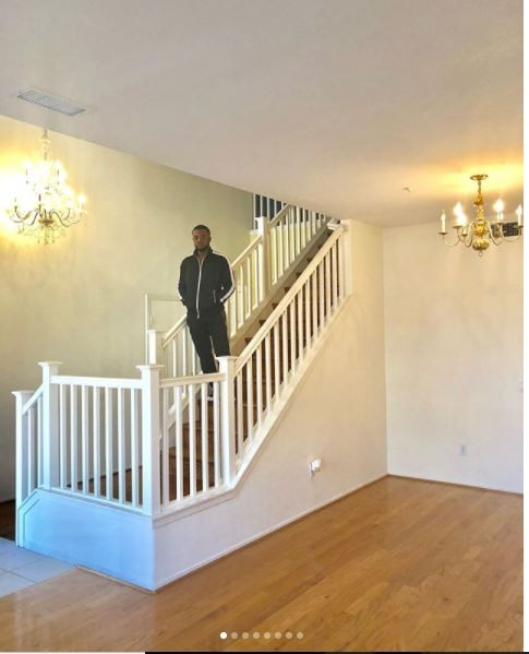Nollywood actor, Williams Uchemba shows off his new home in LA (Photos)