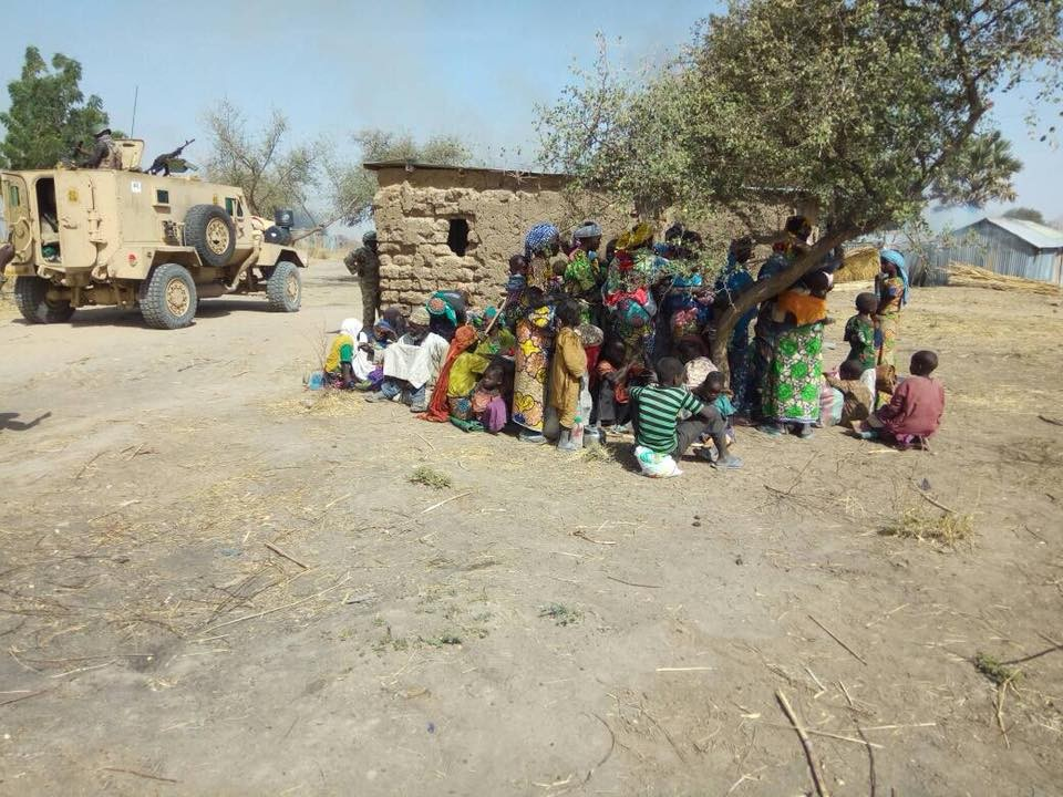 Nigerian Troops rescue 603 Nigerian men, women and children from Boko Haram captivity