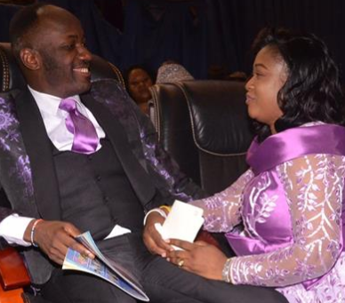 Apostle Suleiman gifts his wife,Lizzy, a shopping mall, petrol station and transport company on her birthday (video)
