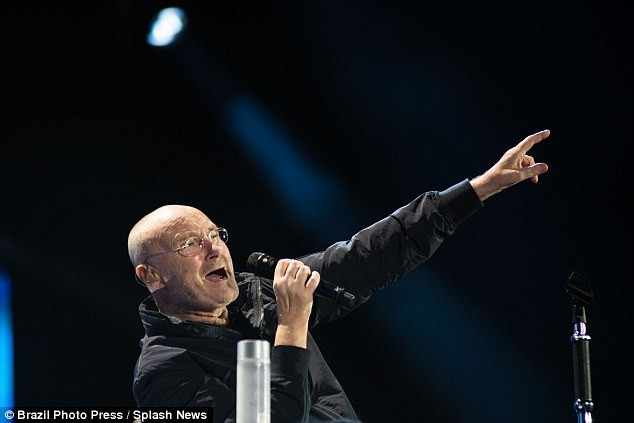Phil Collins returns to the stage, performs from his chair due to debilitating health (Photos)