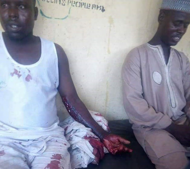 Photos: Gunmen attack businessmen along Dansadau-Gusau road in Zamfara State, reportedly abduct a lady