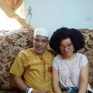 IPOB says their leader, Nnamdi Kanu and his wife not in Ghana