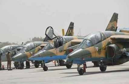Nigerian Air Force denies deploying 100 aircraft for search of abducted Dapchi school girls