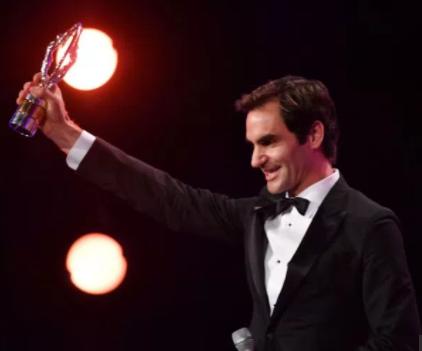 Roger Federer Named World Sportsman Of The Year