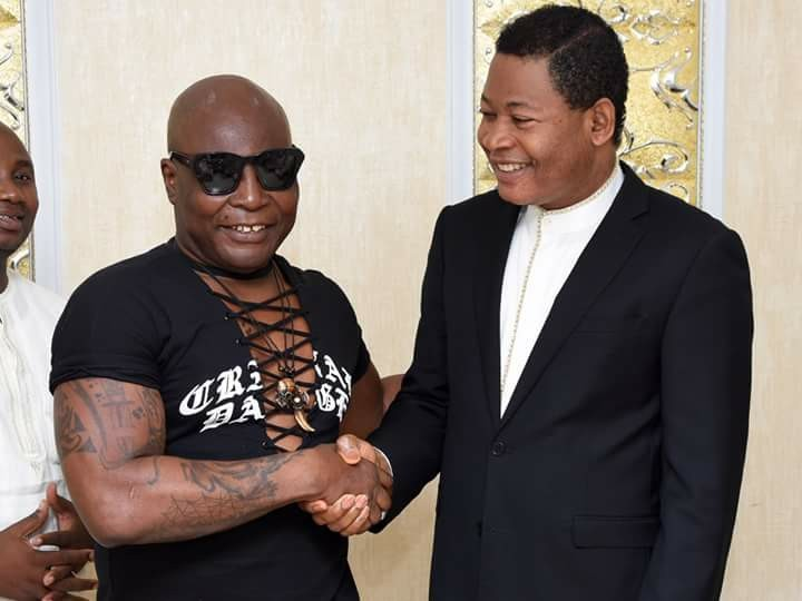 Charly Boy becomes born again, gives his life to Christ at Christ Embassy church Abuja(photos)