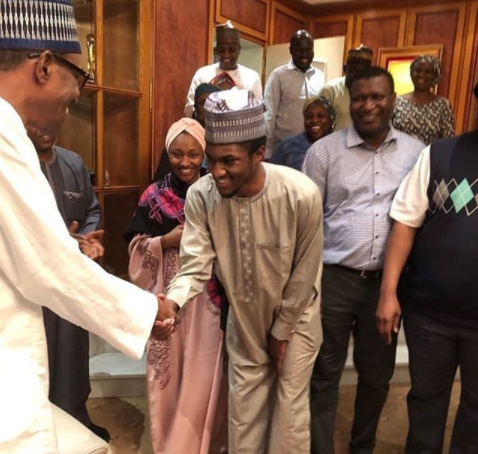 We thank God for the return of our son Yusuf after his medical trip - First Lady, Aisha Buhari