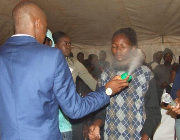 Court jails South African pastor who sprayed his followers with insecticide?