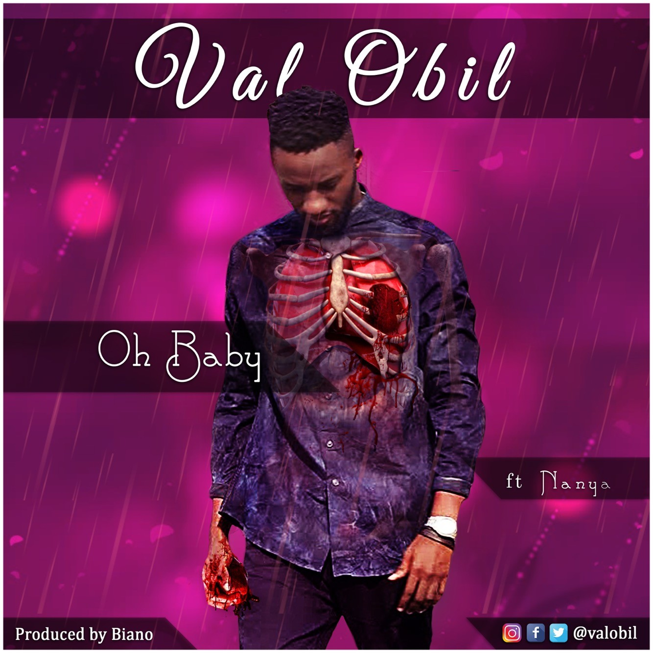 Listen/download new music :Oh baby - Val Obil ft Nanya