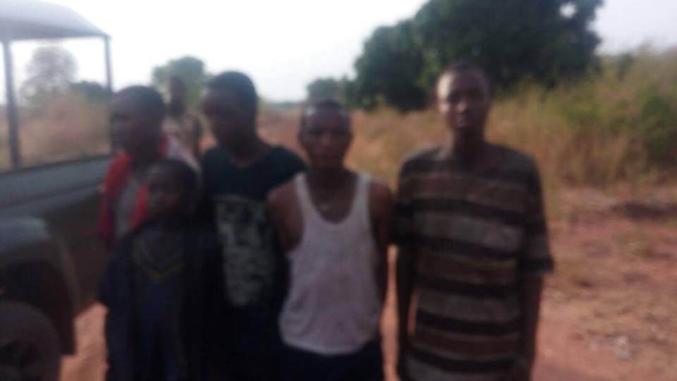 Photos: Troops arrest another set of herdsmen destroying farmland in Benue