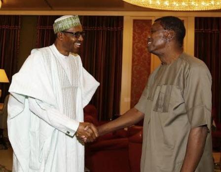 President Buhari celebrates Pastor Adeboye on his 76th birthday