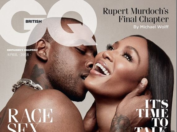 Naomi Campbell shares another steamy topless snap with her