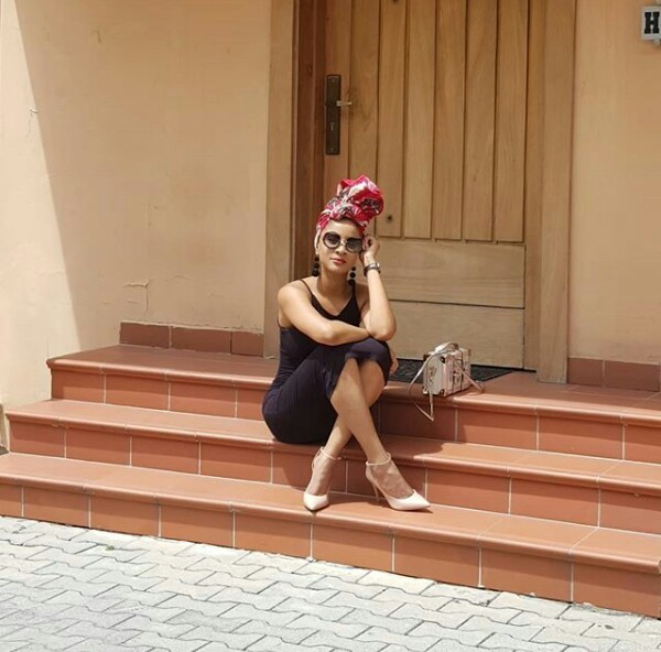 Photos: Adesua Etomi is out here glowing like the star she is