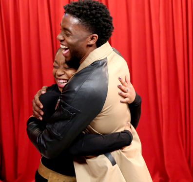 Watch the emotional moment Black Panther actor, Chadwick Boseman surprised Black Panther fans on Jimmy Fallon