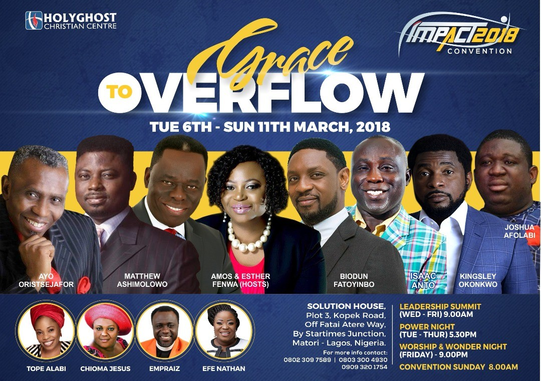 All roads lead to Impact 2018 of HCC Matori Lagos
