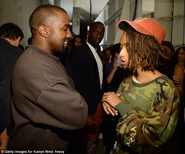 Jaden Smith says Kanye West, Drake and Donald Glover can