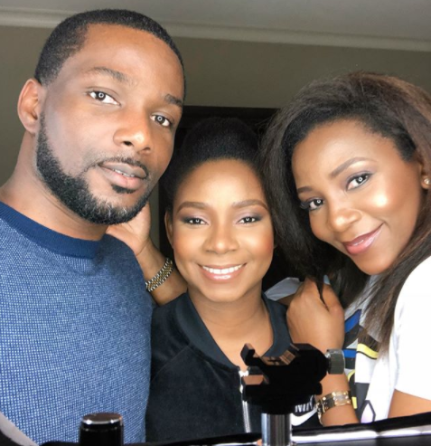 Adorable photos of Genevieve Nnaji and her siblings