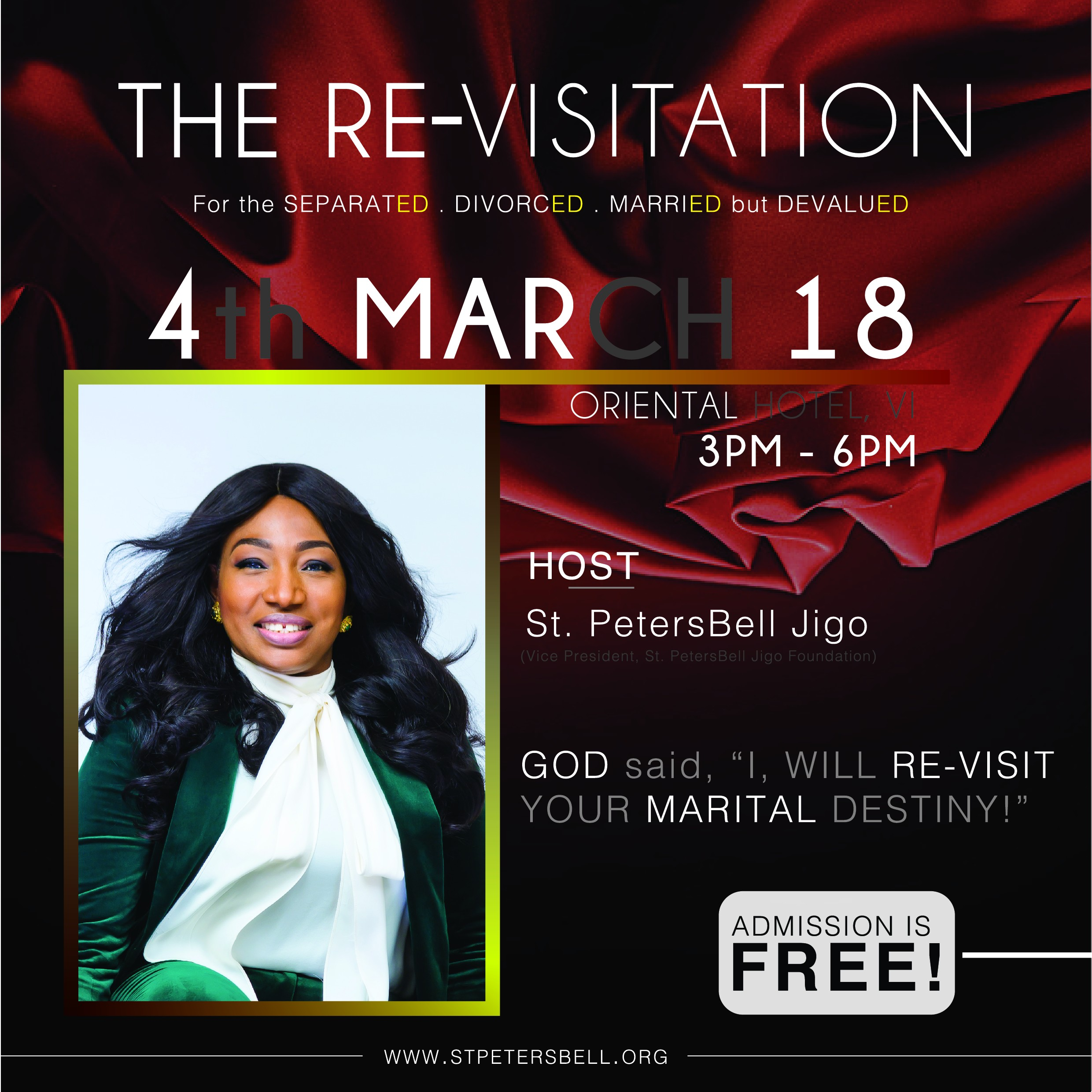 The re-visitation for the seperated, divorced, married but devalued