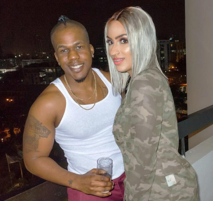 """My world, my everything!"" - Iceberg Slim celebrates Juliet Ibrahim as she turns a year older"