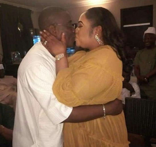 Fuji king, K1 renews marital vows on his 61st birthday (Photos)