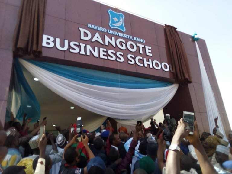Billionaire businessman, Aliko Dangote builds N1.2bn Business School in Bayero University Kano