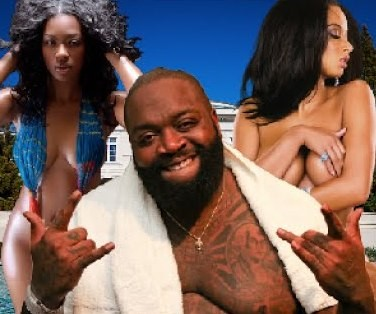 MTO claims Rick Ross was rushed to hospital after suffering from acute exhaustion after all night 3-some with strippers