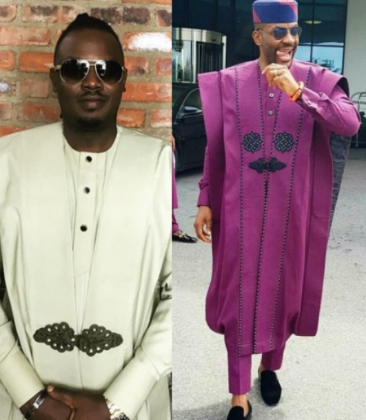 Dr Sid performs on the Big Brother stage in a replica of Ebuka