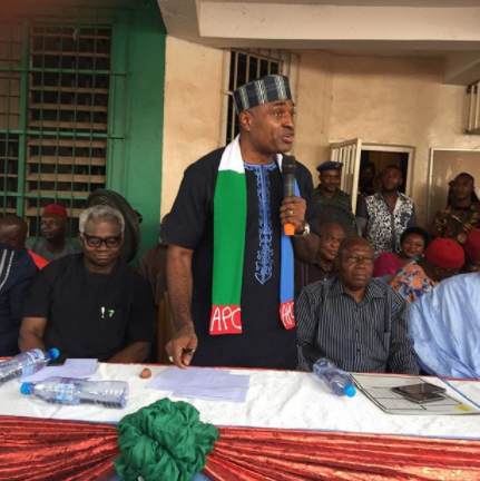Actor, Kenneth Okonkwo declares his intention to run for Enugu state governorship election under APC