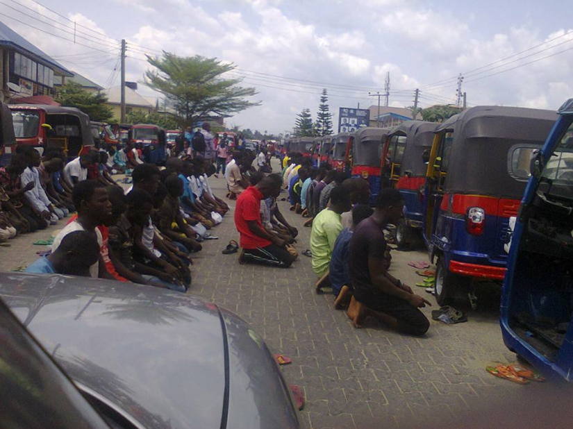 Elderly Nigerian woman allegedly attacked by Muslims who blocked the road to pray in Bayelsa