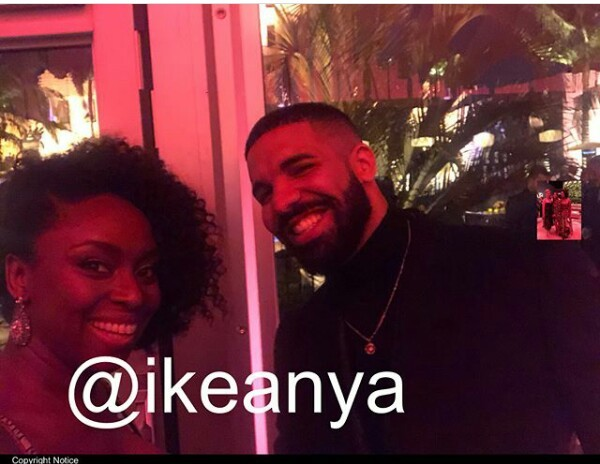 Photos: Chimamanda Adichie meets Drake, Halle Berry at Vanity Fair Oscar Party