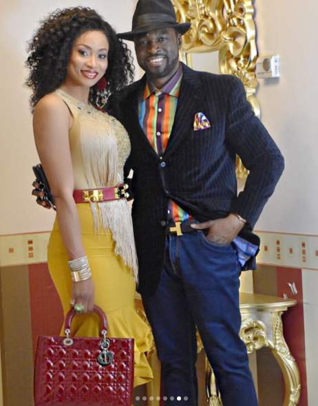 Ex-beauty queen, Sylvia Emechete and her hubby, step out in style(photos)